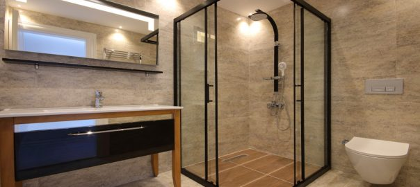 shower screen installation