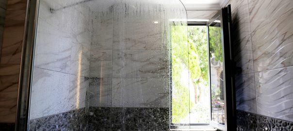 frameless glass shower screen